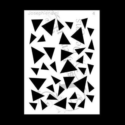 Picture of Triangles - stencil